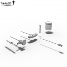 Bone Marrow Biopsy Medical Tool Set
