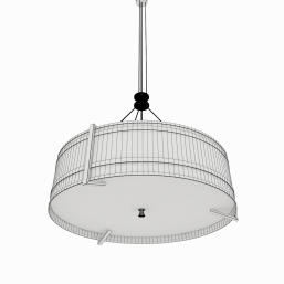 Light Fixture Pendant Cylinder