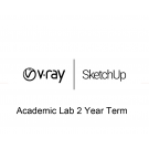 V-Ray SketchUp Academic Lab 2 Year Term