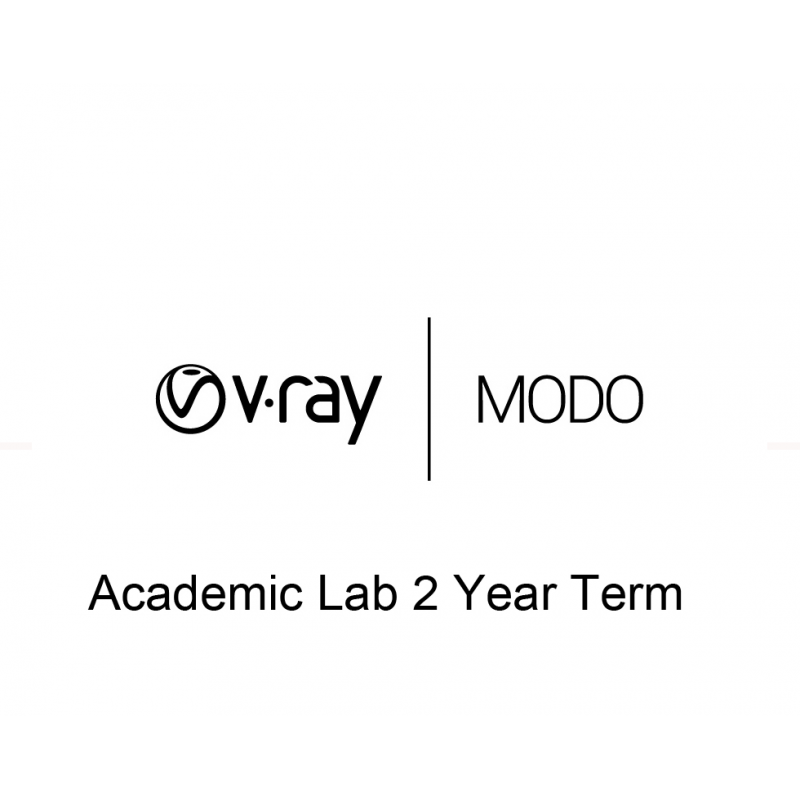 V-Ray MODO Academic Lab 2 Year Term