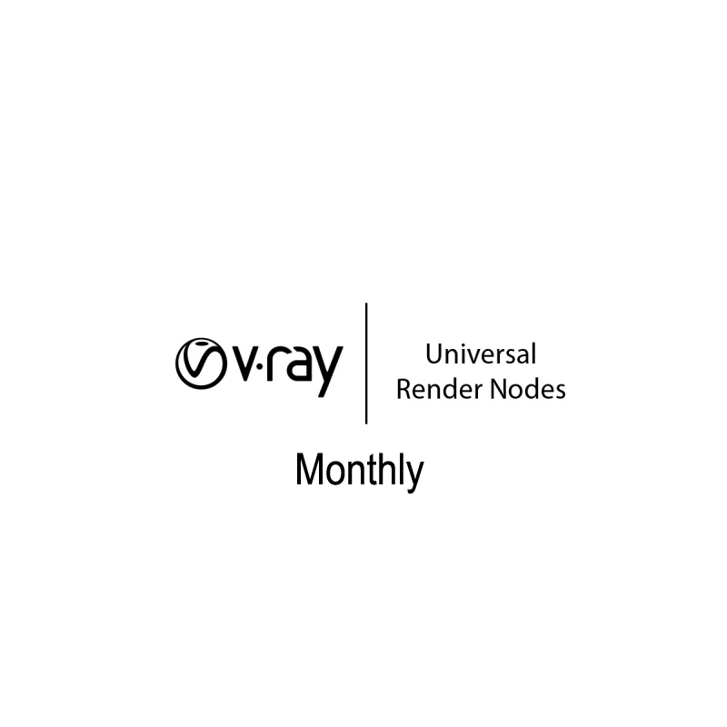 Rent V-Ray Render Nodes by the month