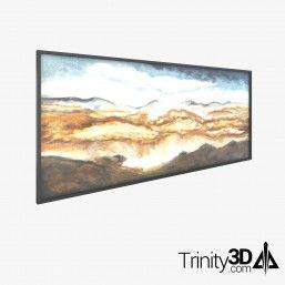 Trinity3D Lounge Mountain Art