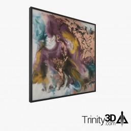 Trinity3D Gold Abstract...