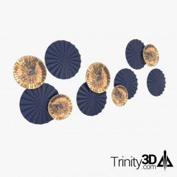 Trinity3D Plate Wall Props