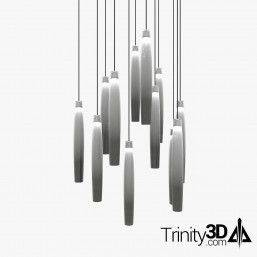 Trinity3D Hanging Drop Lights