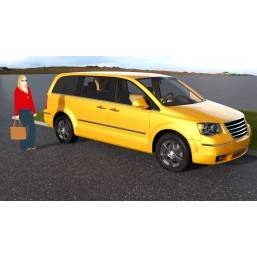 Minivan 01 for SketchUp +...