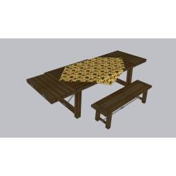 Picnic Table and Benches