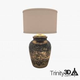 Trinity3D Black Table Lamp