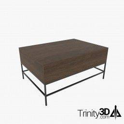 Trinity3D Modern Coffee Table