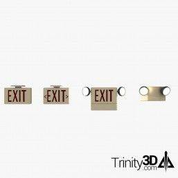 Trinity3D Exit Signs and...
