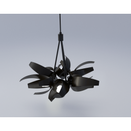 Trinity3D Leaf Hanging Lamp