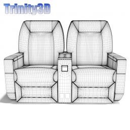 3D Airplane Chairs 02