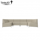 Intrigue Sofa Sectional