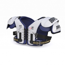 3D Footall Shoulder Pads
