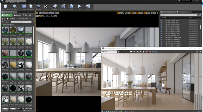 Great renders with V-Ray for Unreal