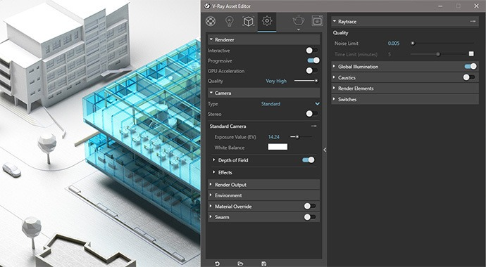 V-Ray for SketchUp New UI
