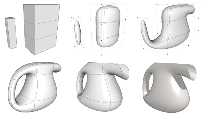 form•Z 8 introduces subdivision modeling