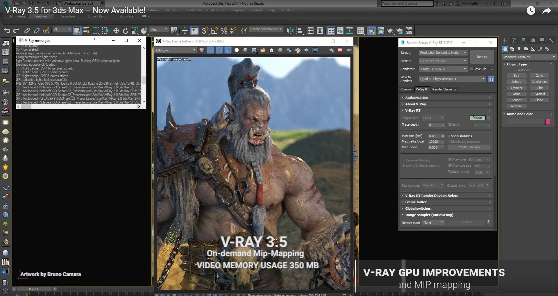 V-Ray 3-5 for 3ds Max – Now Available!